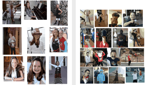 Kids Photos Collage