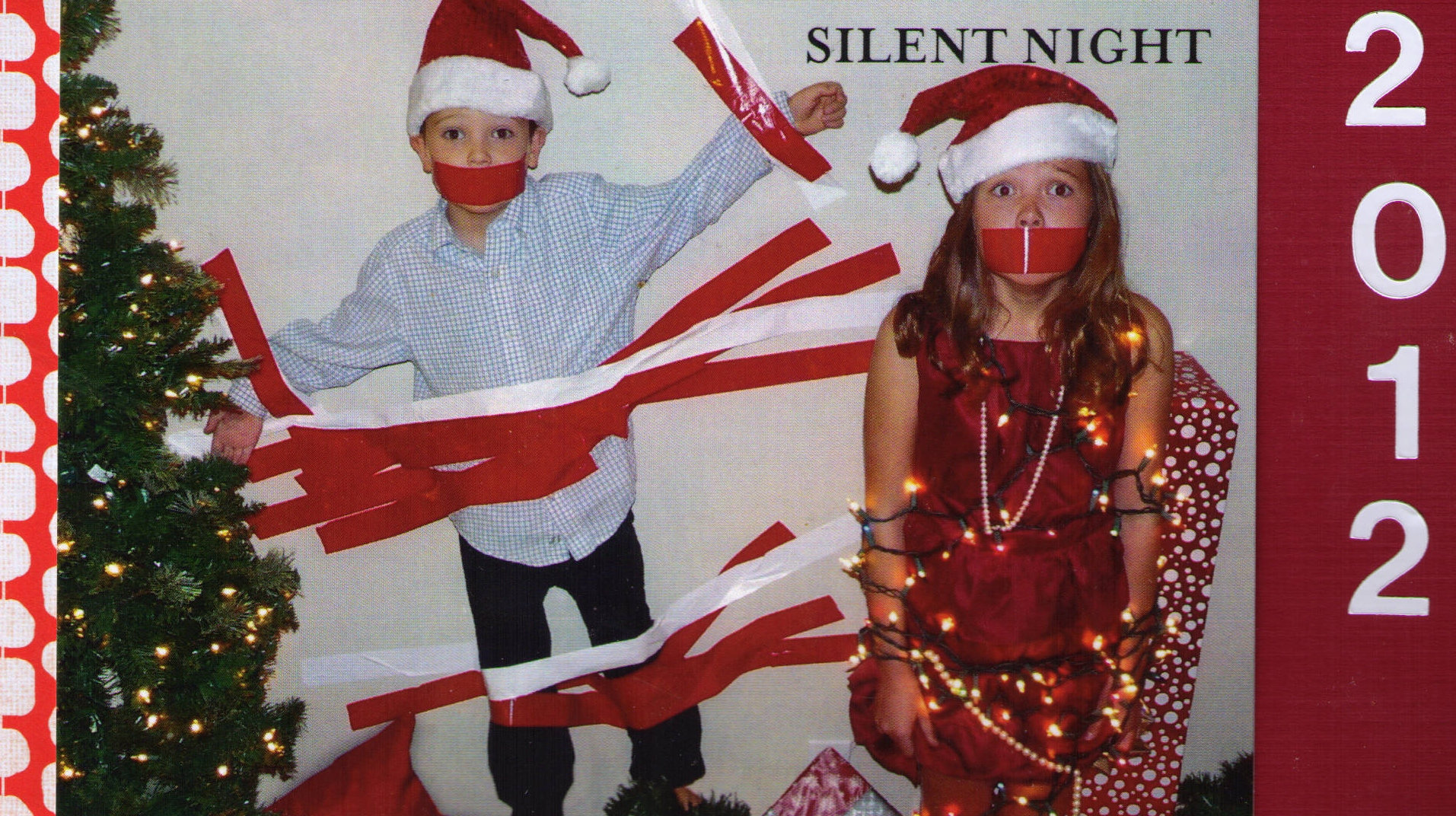Silent Night | Someone\'s Always Watching Me Pee